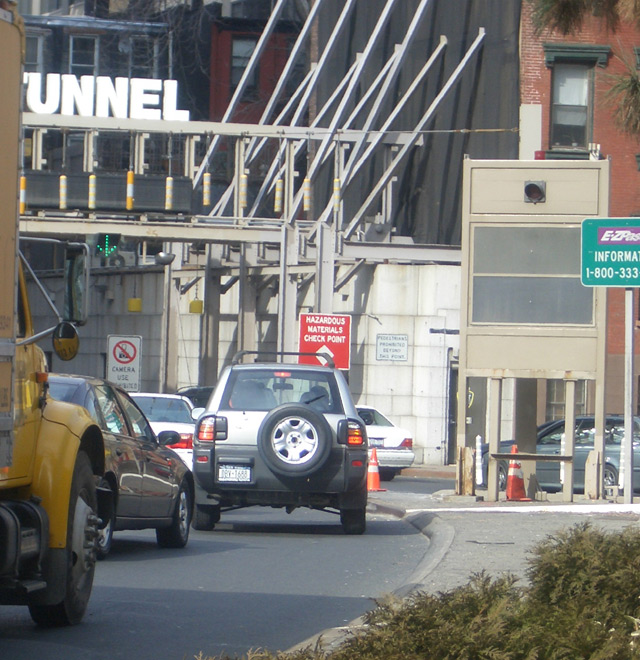 Holland Tunnel, New York City, March 17, 2005